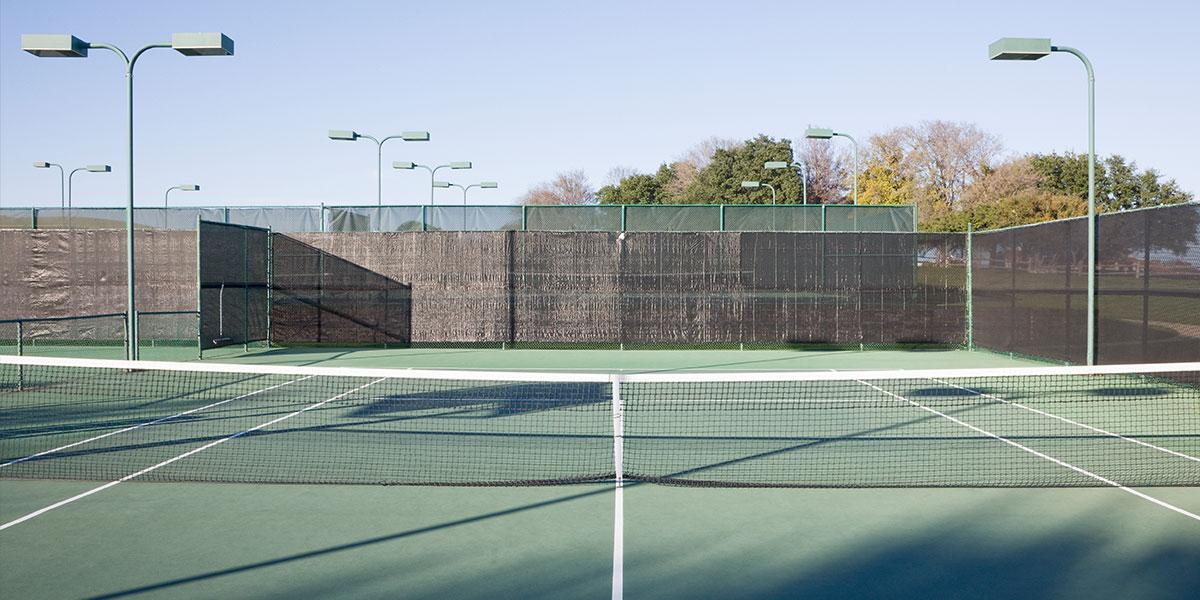 tennis-courts -installation