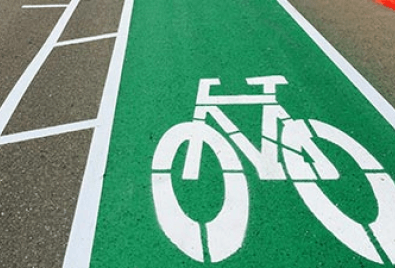 Bicycle Path Floor Application