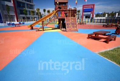 Kids Playground Floor Application