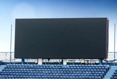 Echran Stadium Bilboard Led Application