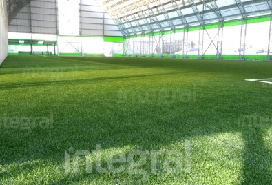 Indoor Artificial Turf Football Pitch Application