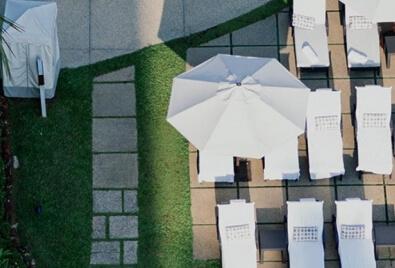Artificial Grass Terrace Application