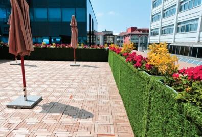 Terrace Wall Application