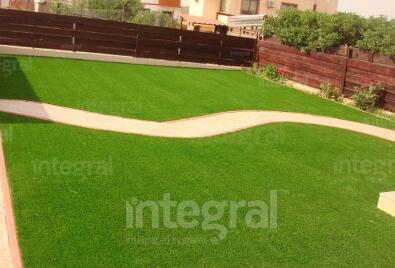 Artificial Turf Garden Application
