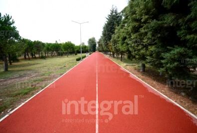 Walkway Tartan Floor Application