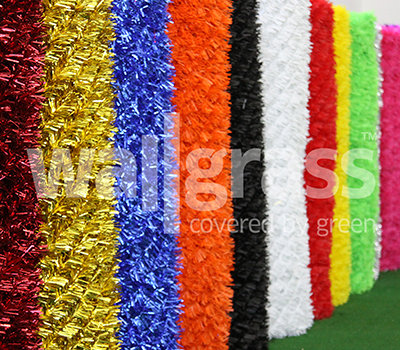 Colorful Grass Fence