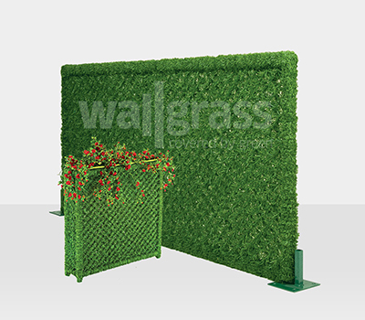 Green Grass Fence Panel